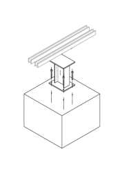 200221 Isometric of based and column